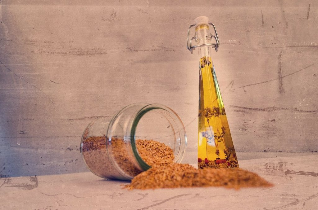 Aceite de semillas para aromatizar con inducción