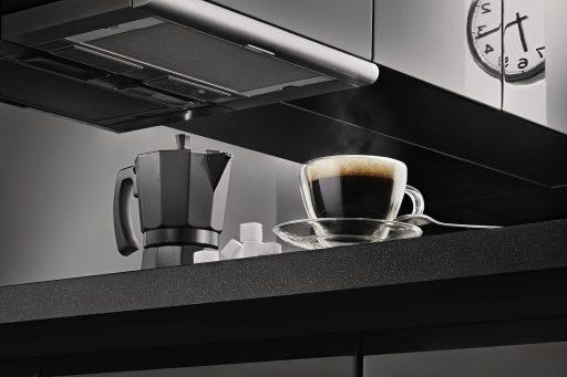 Café espresso y cafetera italiana