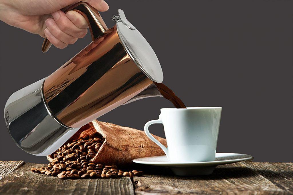 Bonvivo Intenca cafetera italiana para inducción