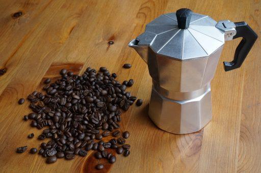 Cafetera italiana para induccion y vitro