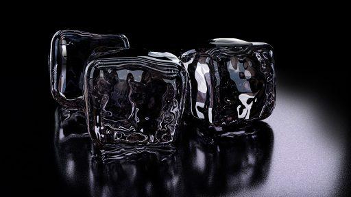 Truco de limpieza vitrocerámica con hielo