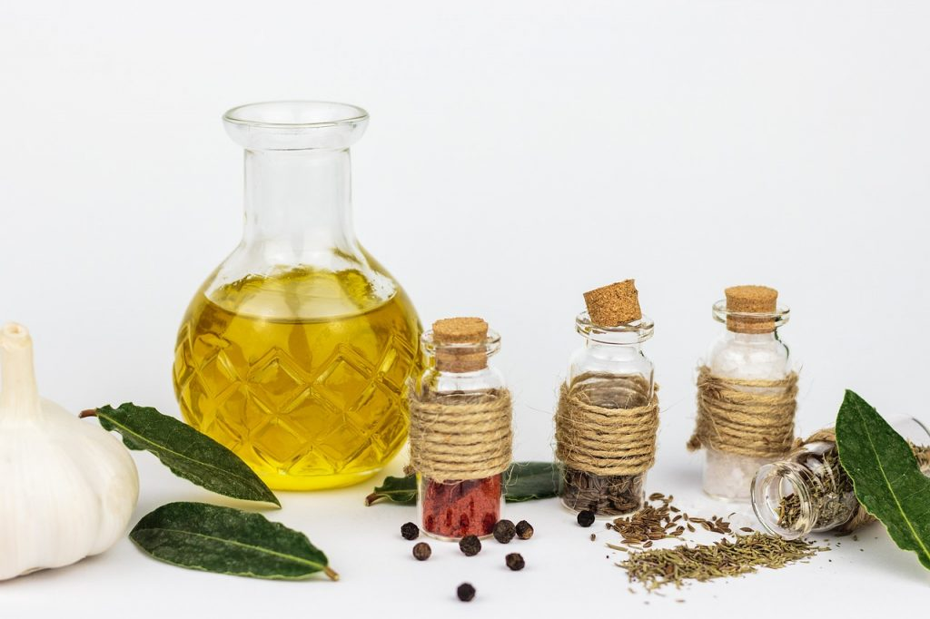 aceite aromatizado ingredientes