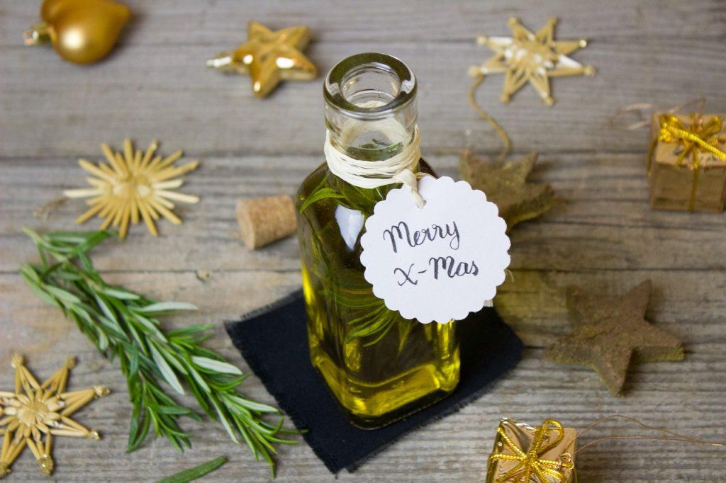 aceite aromatizado romero