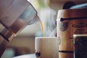 cafe moka en taza