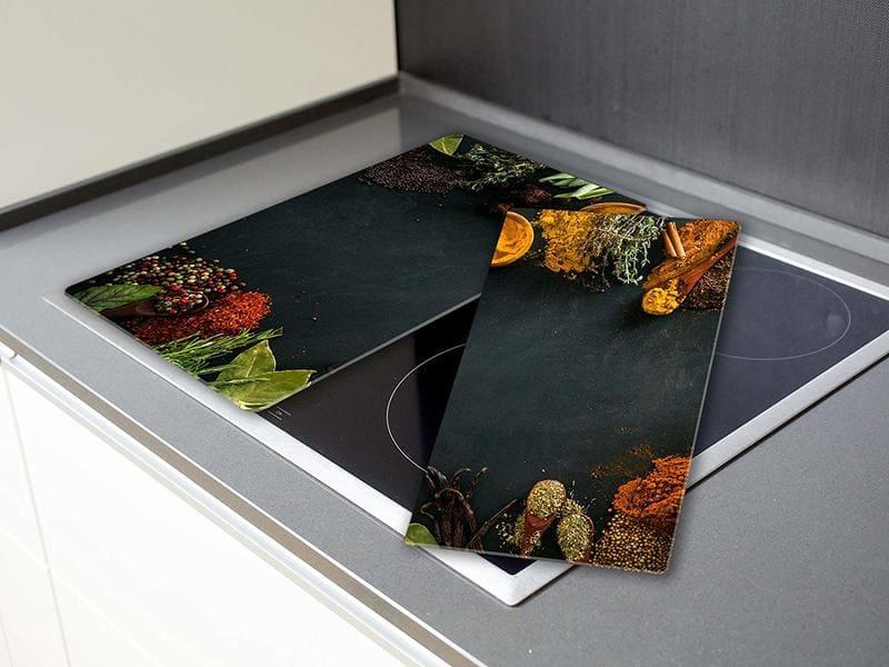 tapa para cubrir vitrocerámica de dos hojas de cristal templado
