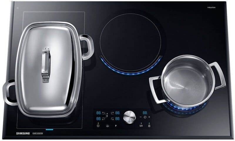Cocina con vitrocerámica de inducción